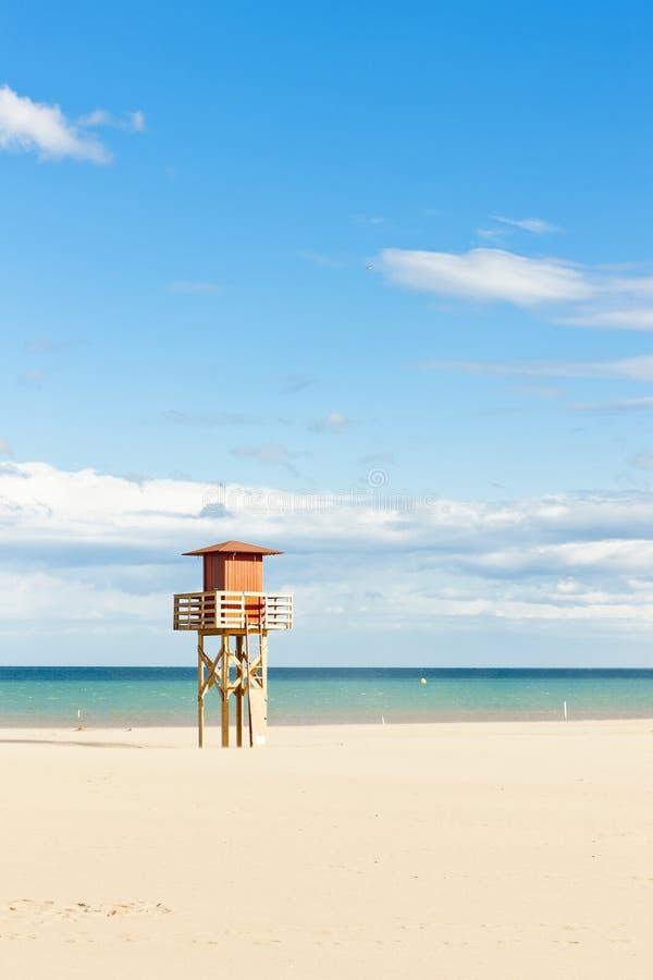 narbonne plażowy plage obrazy stock