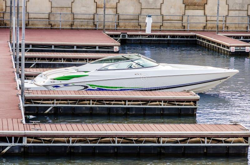 Narciarska łódź zdjęcia stock