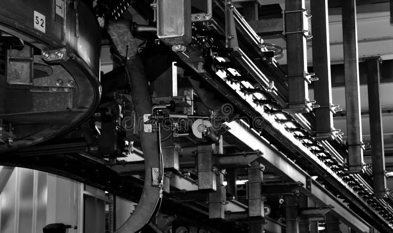 Narciarski dźwignięcie London& x27; s wagon kolei linowej fotografia stock