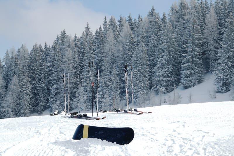 Download Narciarski snowboard obraz stock. Obraz złożonej z wakacje - 13334373