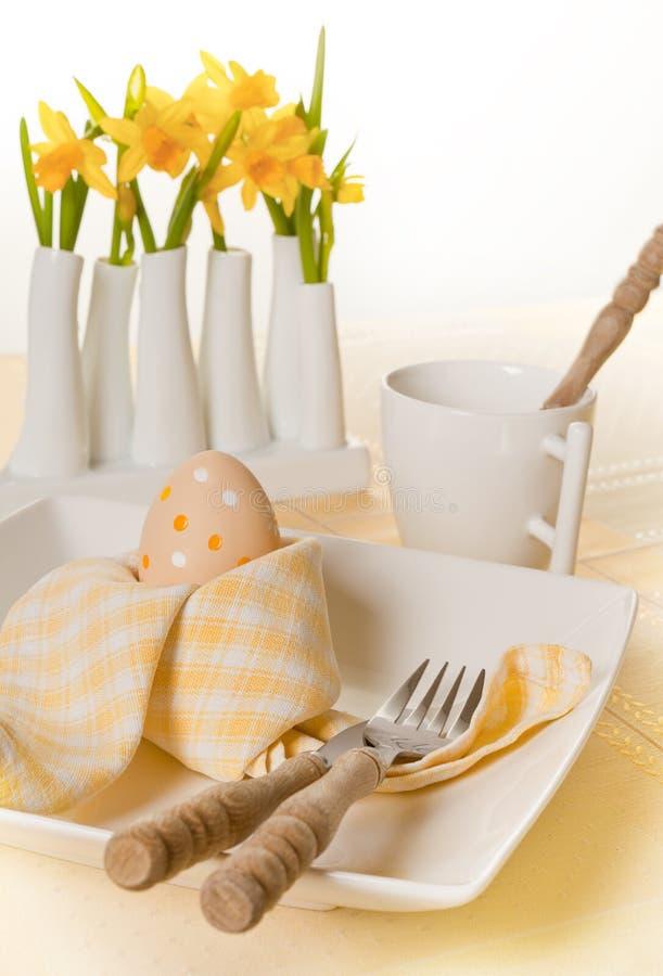 Narcisos en el vector de Pascua fotografía de archivo libre de regalías