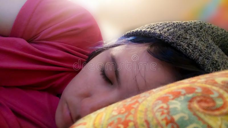 narcolepsy E stock afbeelding