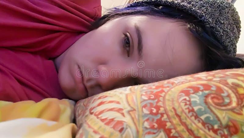 narcolepsy E imagem de stock