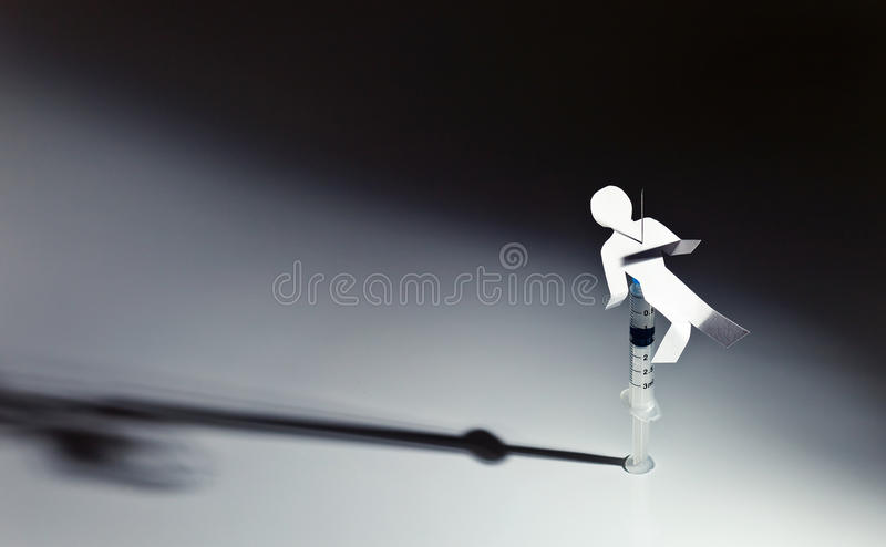 Download Narcotic dependence stock image. Image of close, human - 26342537