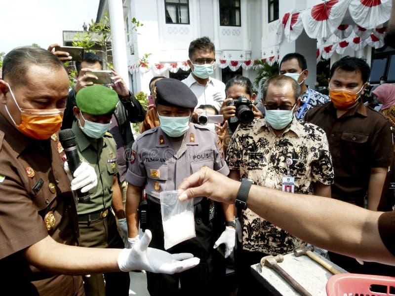 narcotics royaltyfria bilder