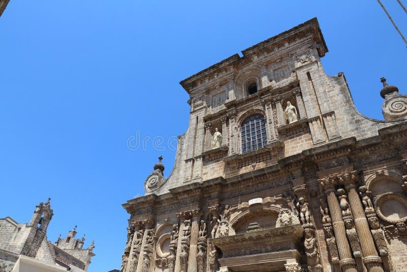 Nardo, Italy. Nardo in Apulia, Italy. Church of Saint Dominic (Chiesa di San Domenico royalty free stock photo