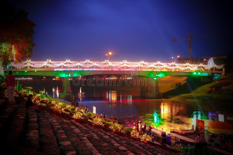 Naresuan Bidge fotos de archivo