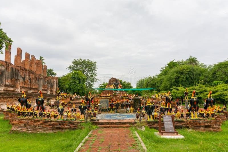 Naresuan Monument国王 库存照片