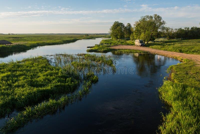 Narew park narodowy zdjęcie stock