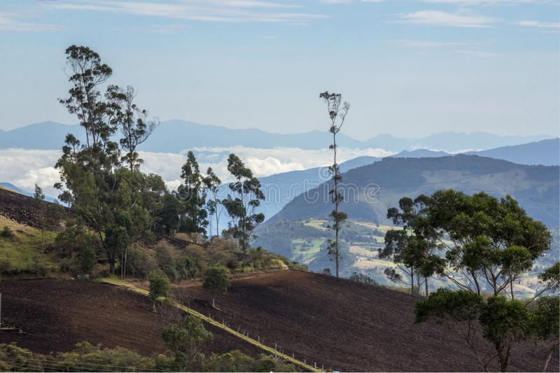 Nariño, land of colors and many contrasts stock photos