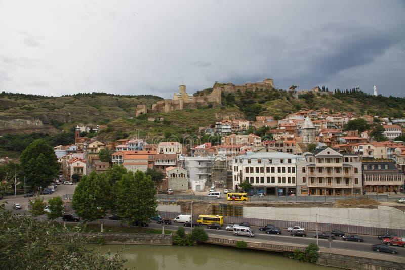 Download Narikala, Tbilisi stock image. Image of mary, mosque - 26018943