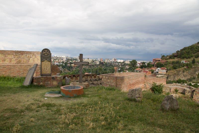 Narikala, Tbilisi royalty free stock images