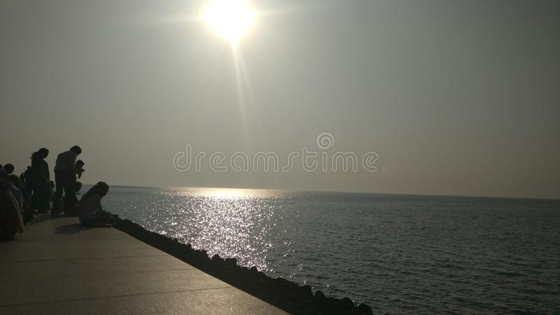 Nariman point Mumbai stock photo