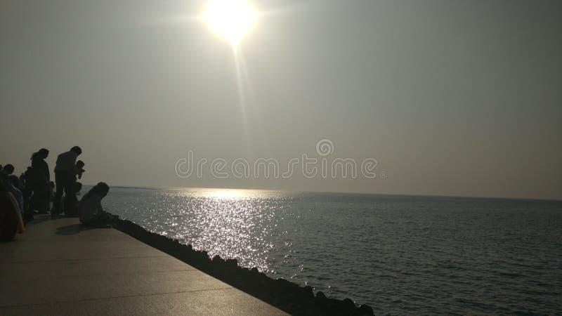 Nariman-Punkt Mumbai stockfoto