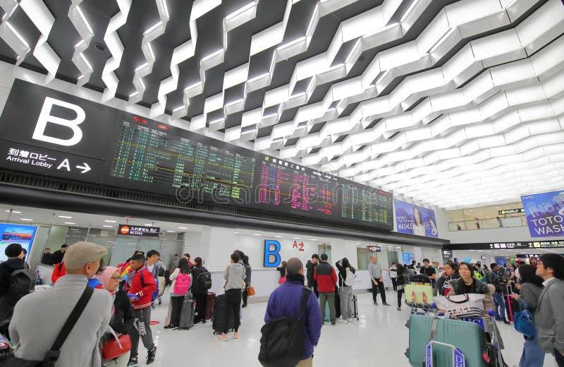 Narita flygplats Tokyo Japan arkivbilder