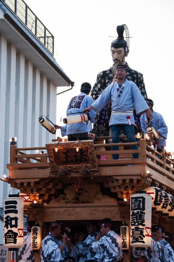 Narita Gion Festival 2017 stock fotografie