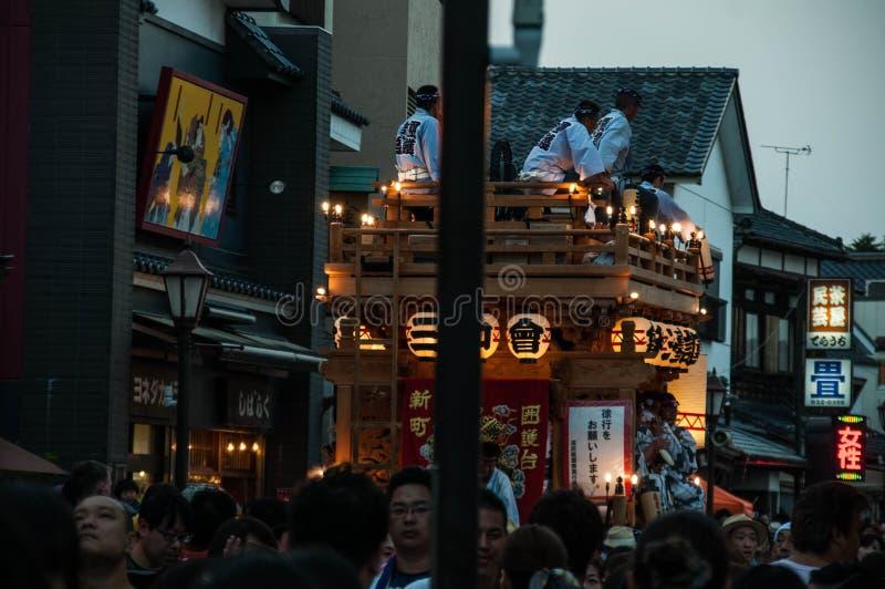 Narita Gion Festival 2017 stock foto's