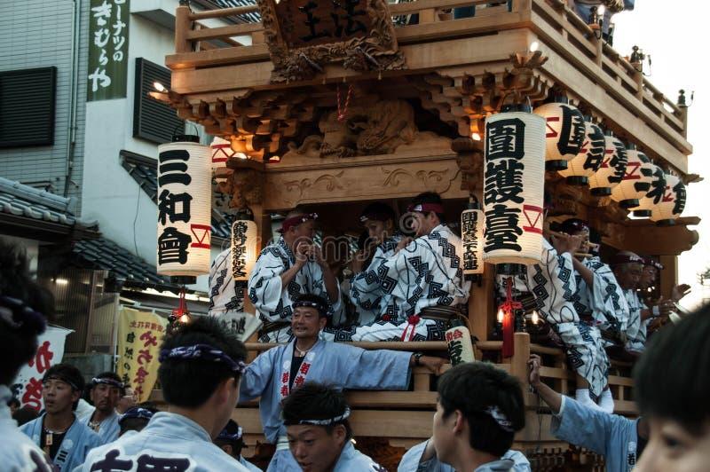 Narita Gion Festival 2017 stock afbeeldingen