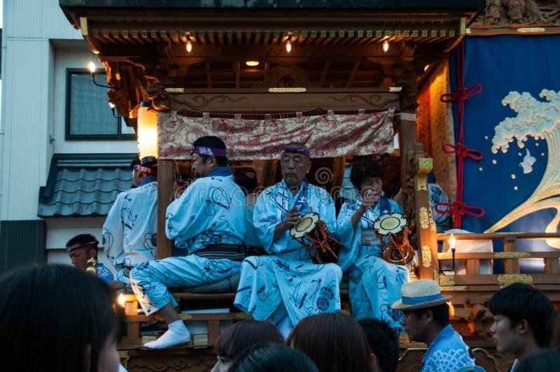 Narita Gion Festival 2017 royalty-vrije stock fotografie