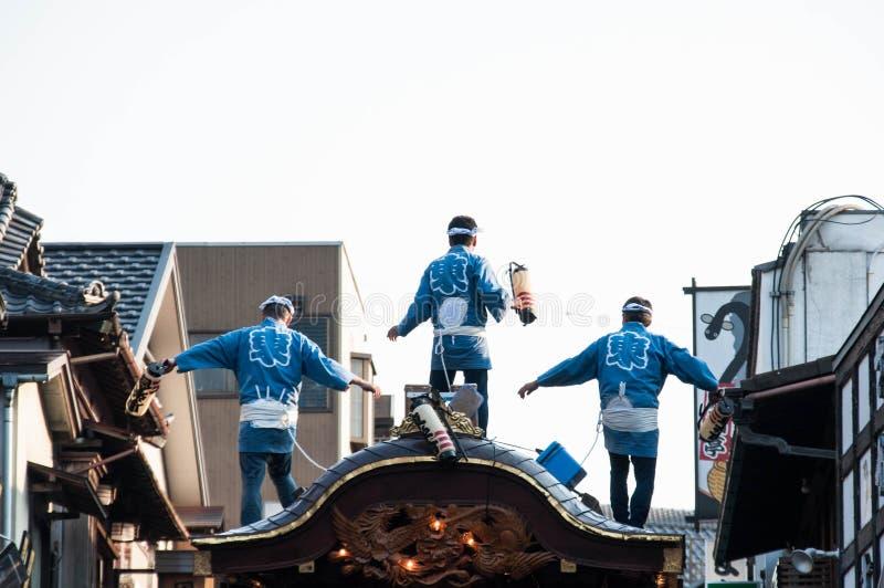 Narita Gion Festival 2017 royalty-vrije stock afbeeldingen