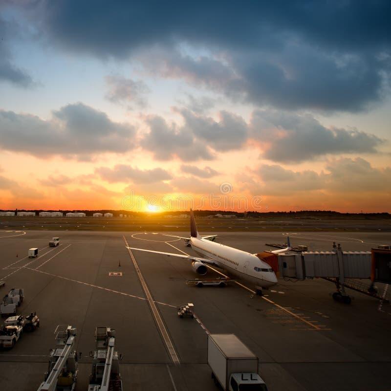 Narita Internationale Luchthaven royalty-vrije stock afbeeldingen
