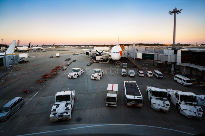 Narita Internationale Luchthaven royalty-vrije stock fotografie