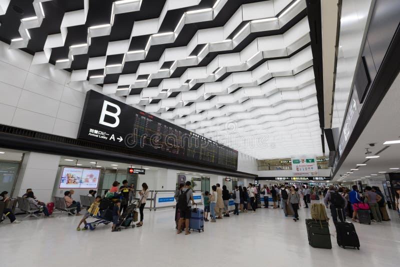 Narita internationell flygplats i Japan royaltyfri foto
