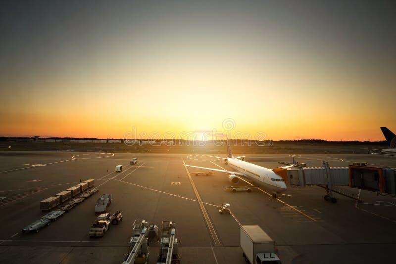 Narita lotnisko międzynarodowe obraz royalty free