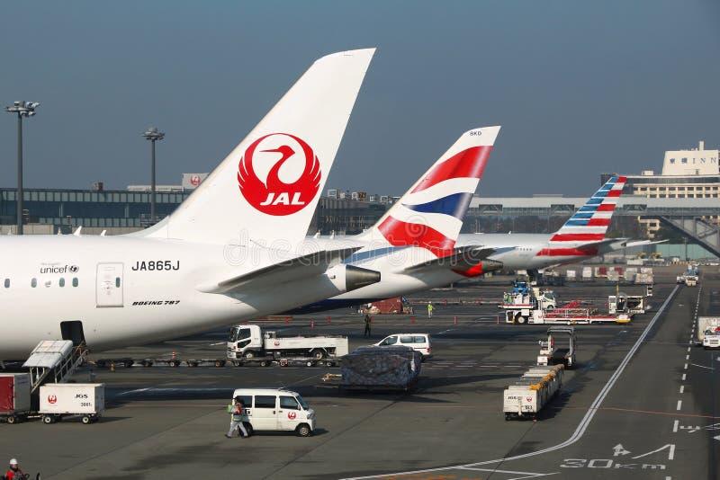 Narita luchthaven royalty-vrije stock foto