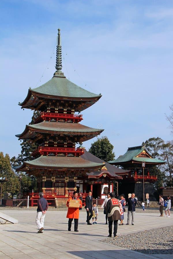 Narita-San ShinshÅ  - ji stock foto