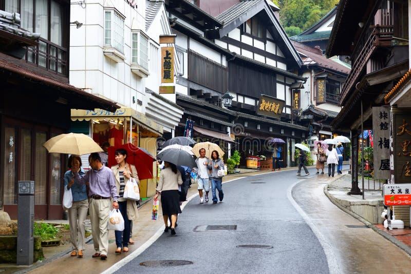 Narita Traditionele het Winkelen Straat royalty-vrije stock fotografie