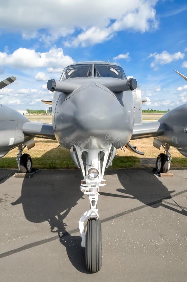 Nariz de aviones imagen de archivo libre de regalías
