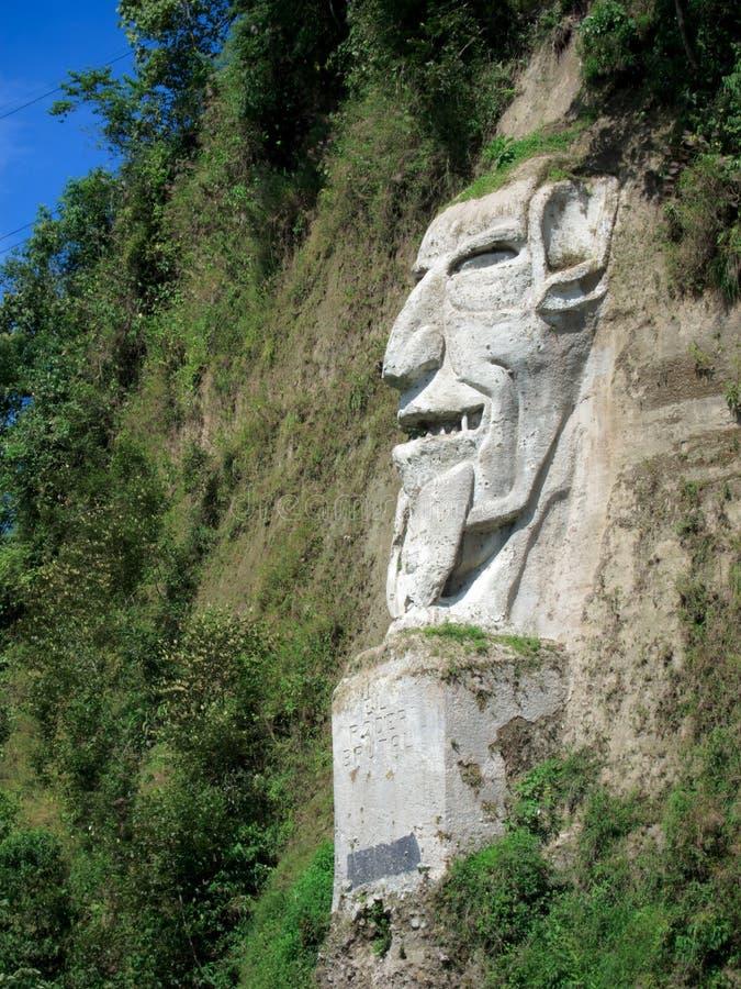 Nariz Del Diablo na brzegowej drodze w Ekwador obraz royalty free