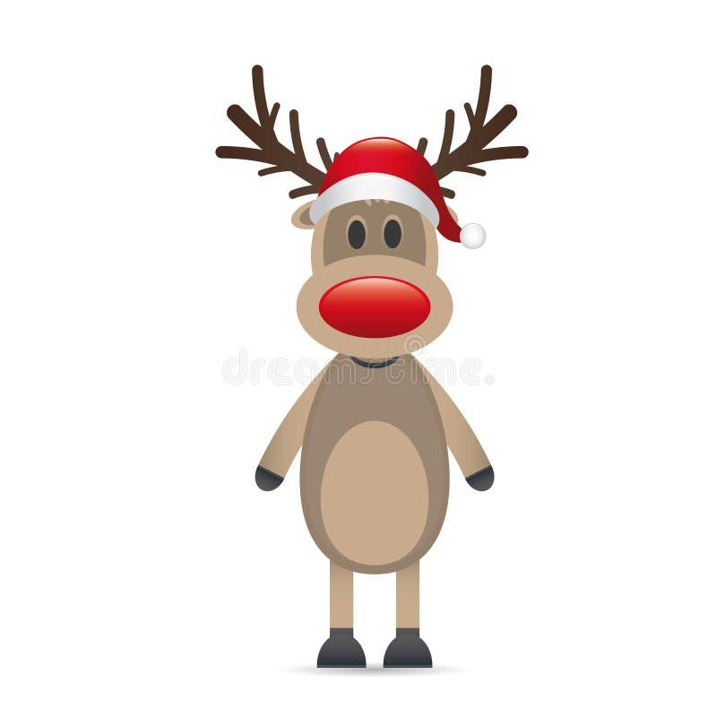 Nariz del rojo del reno de Rudolph libre illustration