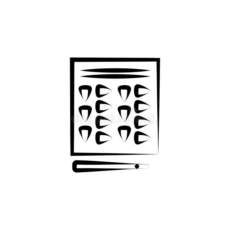 narkotyczna pigułki ikona Element przestępstwo ikona dla mobilnych pojęcia i sieci apps Ręka rysująca narkotyczna pigułki ikona m ilustracji