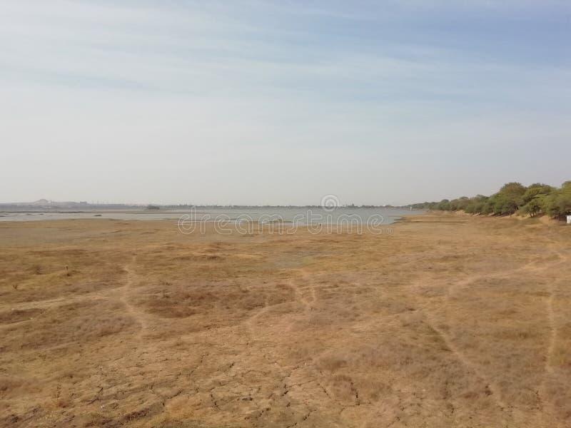 Narmada flod royaltyfria foton
