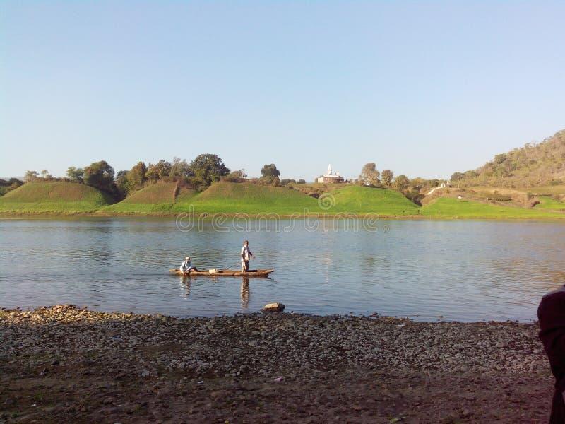 Narmada rzeki ind zdjęcie stock