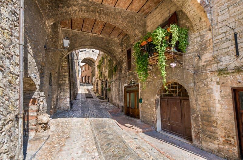 Narni, αρχαία πόλη στην επαρχία Terni Ουμβρία, κεντρική Ιταλία στοκ φωτογραφίες με δικαίωμα ελεύθερης χρήσης