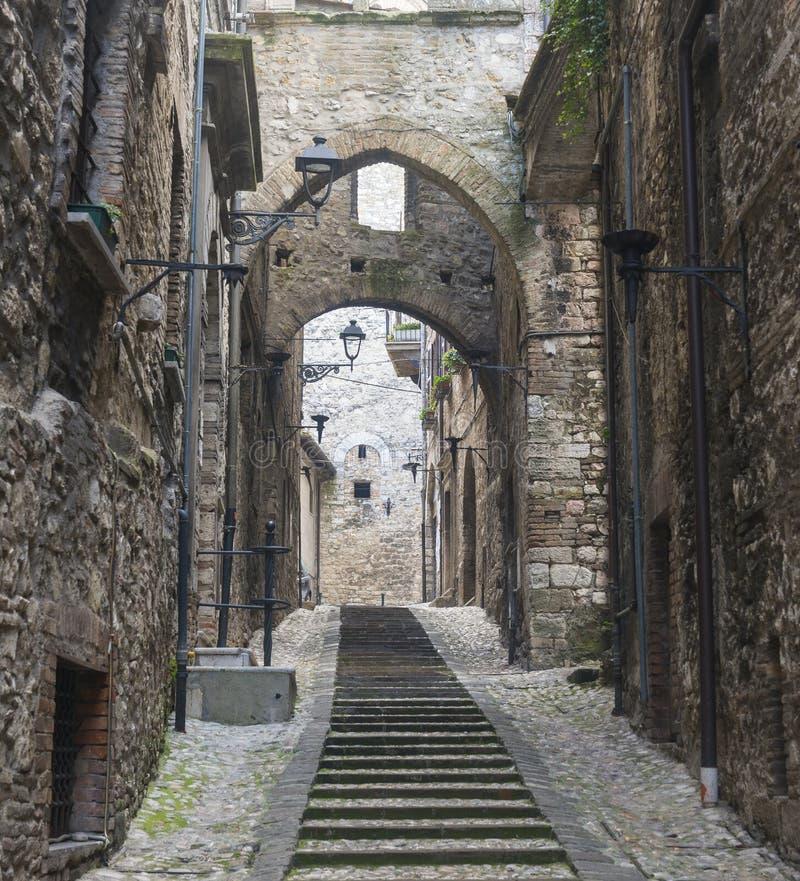 Narni (Ουμβρία, Ιταλία) στοκ εικόνα με δικαίωμα ελεύθερης χρήσης