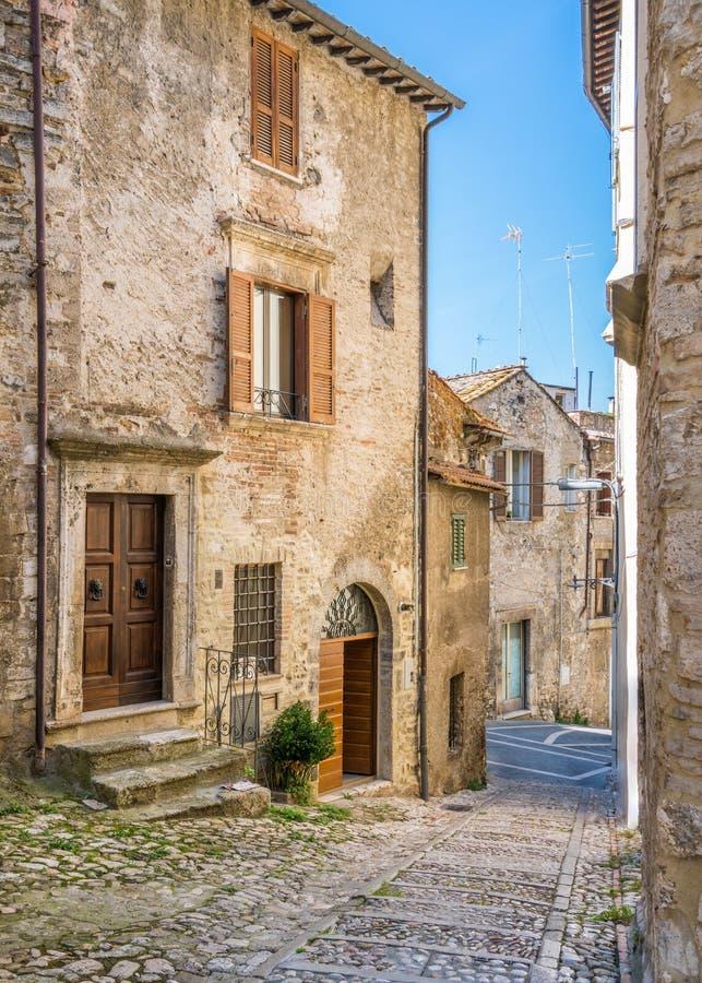 Narni, alte Stadt in der Provinz von Terni Umbrien, Mittel-Italien stockfotos