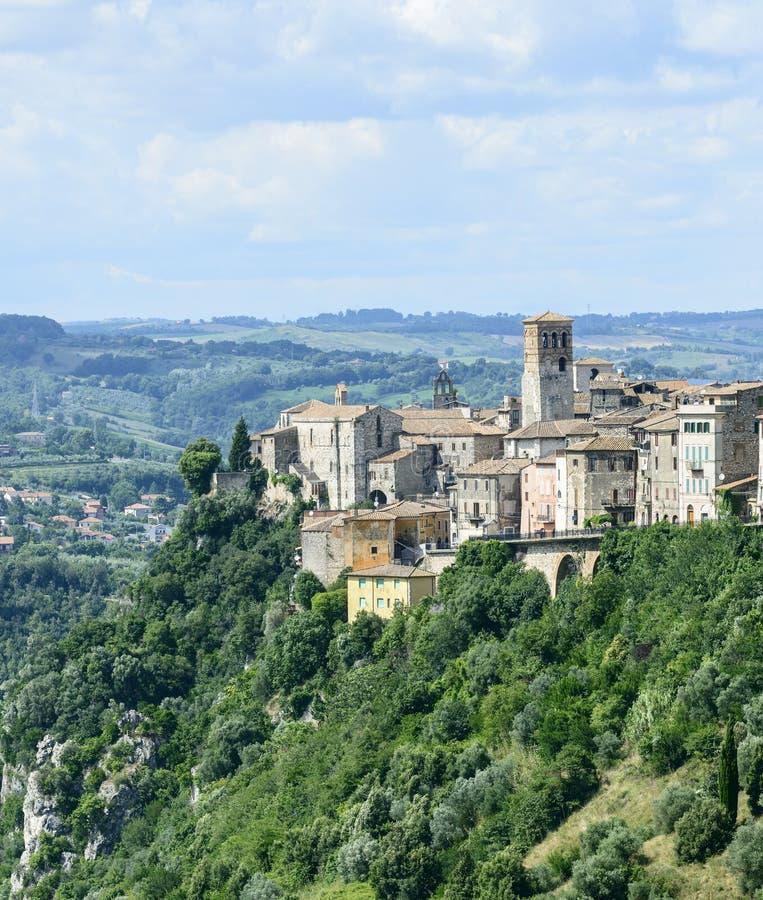 Download Narni Umbria, Włochy (,) obraz stock. Obraz złożonej z wzgórze - 53788225