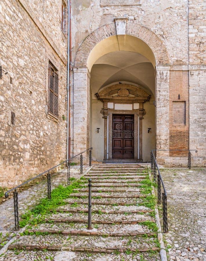 Narni, ville antique dans la province de Terni L'Ombrie, Italie centrale photo libre de droits