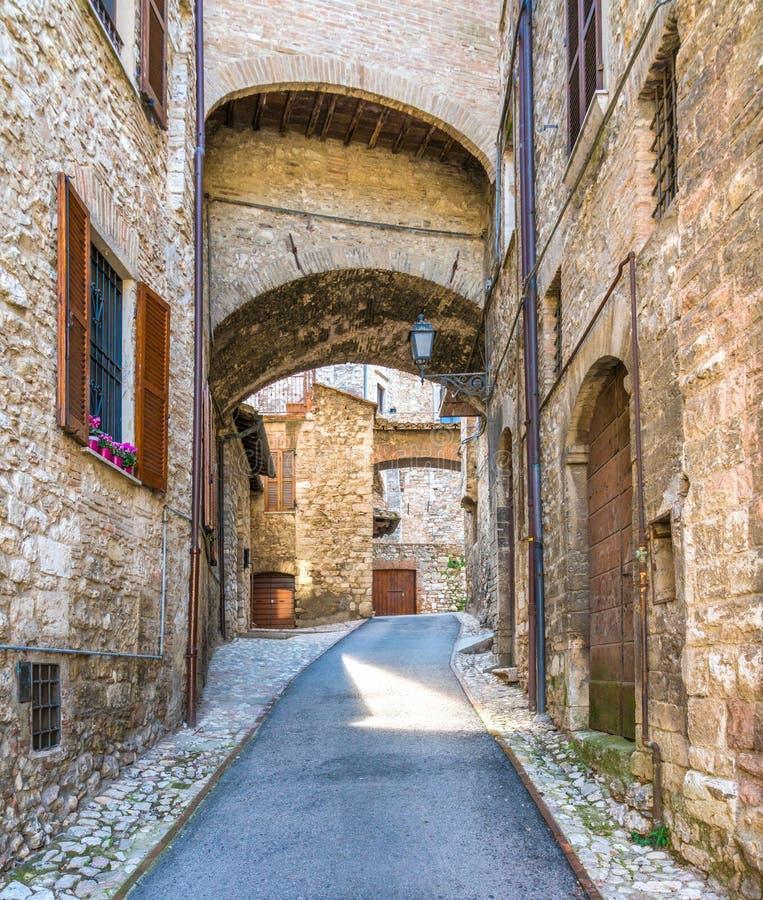 Narni, ville antique dans la province de Terni L'Ombrie, Italie centrale photos stock