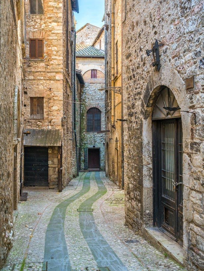 Narni, ville antique dans la province de Terni L'Ombrie, Italie centrale images stock