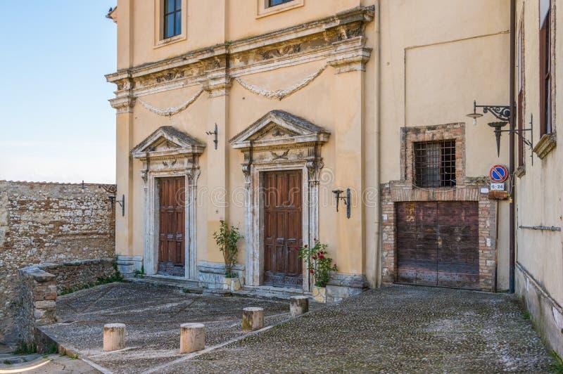 Narni, ville antique dans la province de Terni L'Ombrie, Italie centrale photos libres de droits