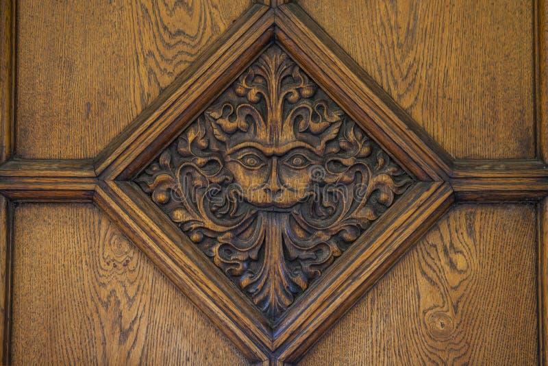 Narnia dörr i Oxford royaltyfri foto