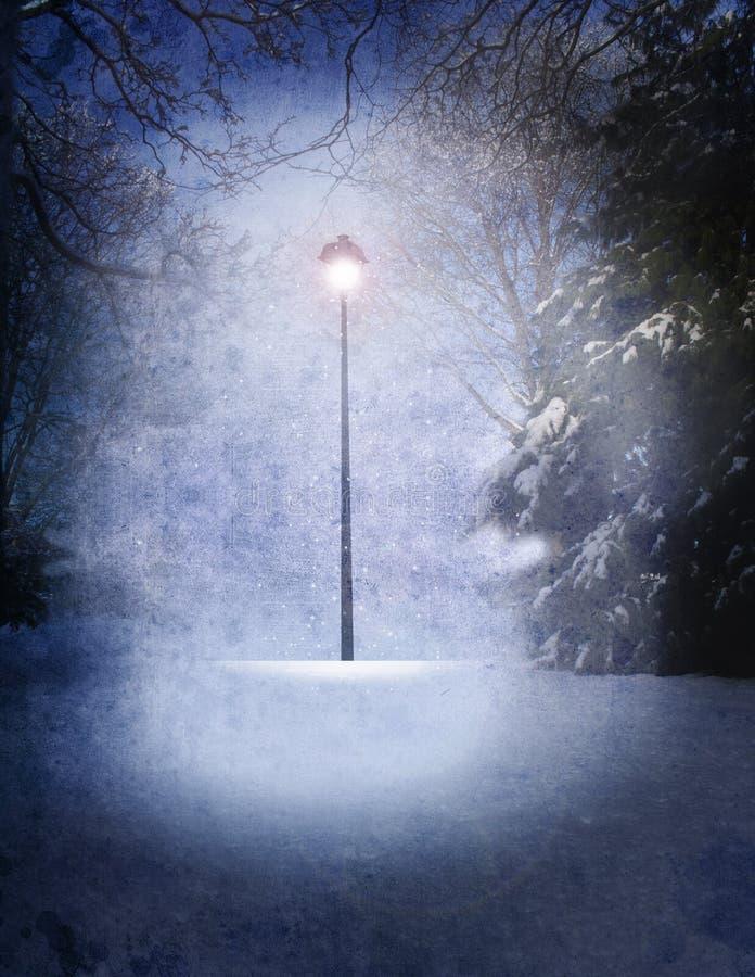 Narnia lampa ilustracji