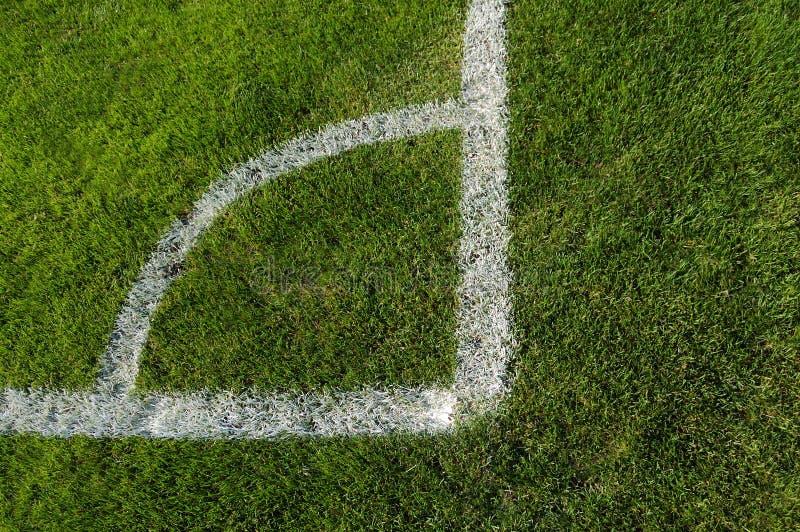 narożnikowa śródpolna piłka nożna obrazy royalty free