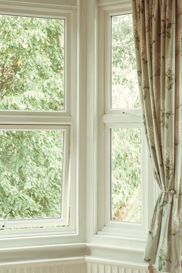 Narożnikowy okno obrazy royalty free