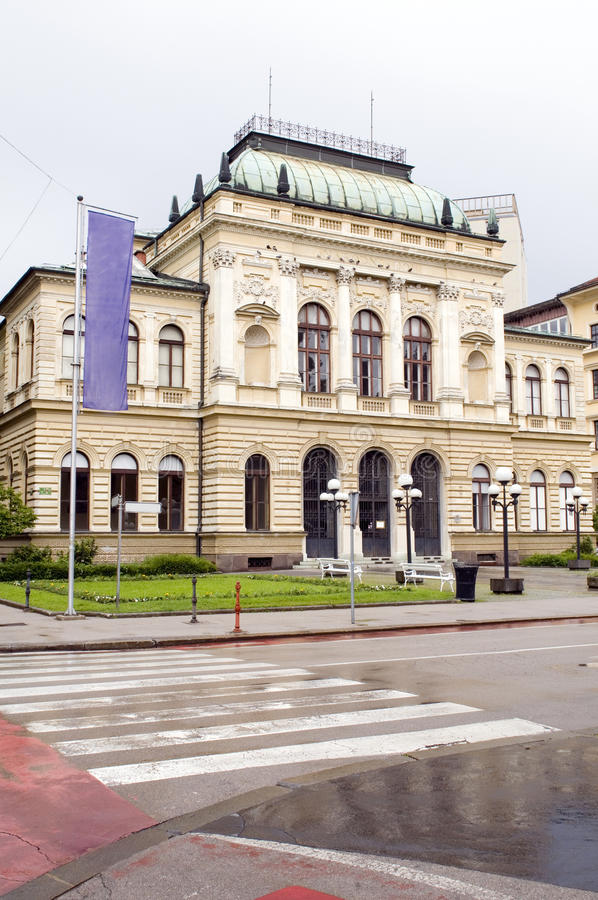 Narodna National Gallery  Art Museum Ljubljana Slovenia Royalty Free Stock Image